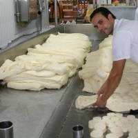 Чеддеризация сырной массы