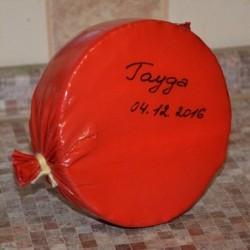 Упаковка сыра в специальный термоусадочный пакет