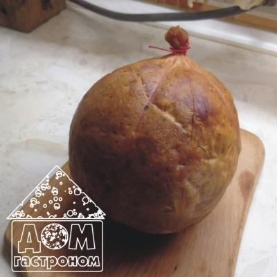 Рубленная колбаса в свином пузыри от Натальи