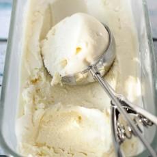Домашнее мороженое из ЙОГУРТА  с ванилью (рецепт приготовления)