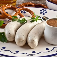 ВАЙСВУРСТ - белая баварская колбаса (рецепт приготовления)