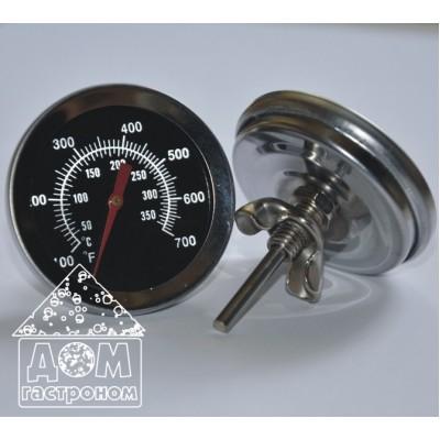 Механический термометр для коптильни от +50 до +350 °C