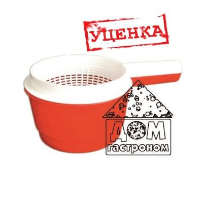 """УЦЕНКА! Форма для адыгейского сыра """"Сыродельница"""" - мини d11 см"""