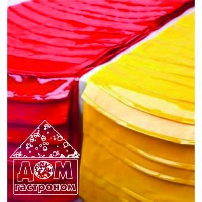 Термоусадочные пакеты для сыра, 280х525 мм для упаковки головок сыра весом от 1,5 кг до 2,5 кг.
