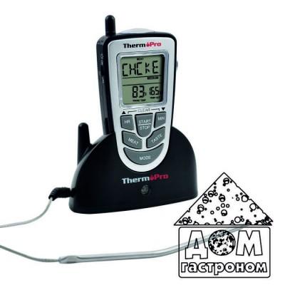 Беспроводной термометр ThermoPro TP-09 (до 100 м) со щупом для приготовления пищи (-10 до +250 °С)