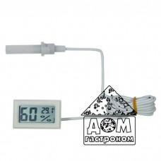 Термометр-гигрометр цифровой со щупом