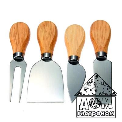Набор ножей для сыра из 4 приборов.